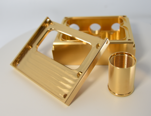gold plated steel